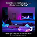 Philips Hue Bluetooth Smart Lightstrip Plus 2m/6ft Base Kit with Plug, (Voice Compatible with Amazon Alexa, Apple… 11