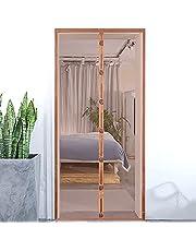 Eco Memos Sineklik Kapı Manyetik Ağır Hizmet Tipi Örgü Perde 70*200 cm / 80*200 cm Sivrisinek Kapısı, Böcekleri Dışarıda Tutun, Delmeden Kolay Kurulum