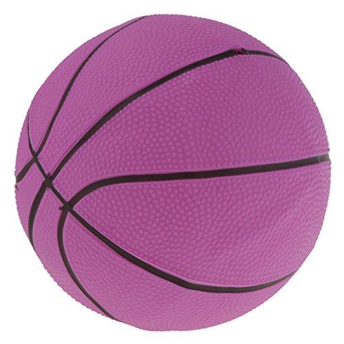 B Blesiya Mini Baloncesto Hinchable Balón de Playa Bañera Regalo Divertido de Fiesta Cumpleaños para Niños - Rosa