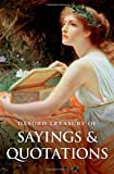 Oxford Treasury of Sayings and Quotations, Susan Ratcliffe, 0199609128
