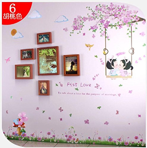 famous-wall-stickers-5-inch-7-inch-10-inch-restaurant-quality-solid-wood-photo-frame-wall-bedroom-id
