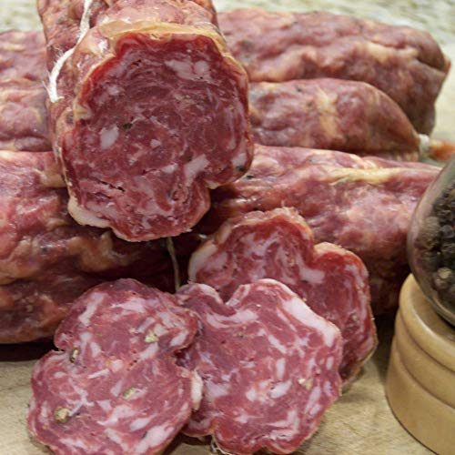 Sweet Soppresata Natural Dry Cured Sausage, Nitrate -