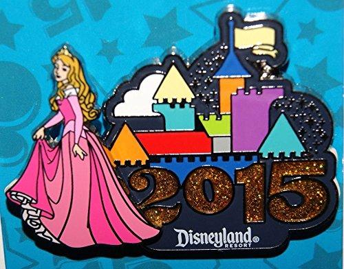 Disney Princess Aurora 3D Disneyland Resort Castle Pin (Disney Castle Resort)