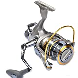 Yoshikawa Baitfeeder Spinning Reel 3000 Bass Fishing Reel 5.1:1 11 Stainless Ball Bearings Ultra Smooth Left Right Hand Changeable For Sale