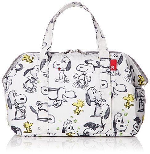 Peanuts Snoopy Insulated cold lunch tote bag Thermo keeper 445902 Sketch -