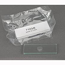 AmScope BS-C6-A Microscope Slides, Single Depression, Single Concave, Pack of 6