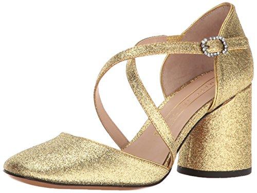 Marc Jacobs Women's Haven Criss Cross Dress Pump - Gold -...