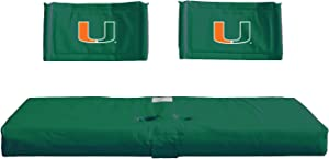 Rivalry NCAA Miami Hurricanes Tailgate Hitch Seat Cover