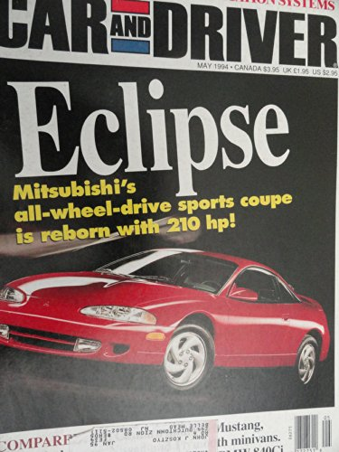 1994 Mitsubishi Eclipse / Acura NSX / Quest / Grand Voyager / Windstar / Camaro / Mustang / Audi Cabriolet / Ford Aspire / Nissan 240SX Road Test