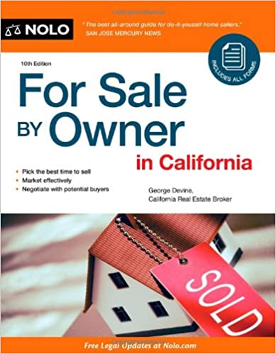 Amazon com: For Sale By Owner in California (9781413310955): George