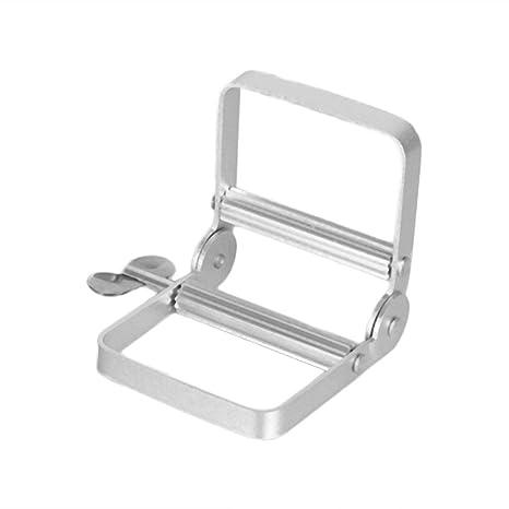 Sunnyday Herramienta dispensador de batir Manual de Aluminio Portable de Dispenser exprimidor de Accesorios de baño