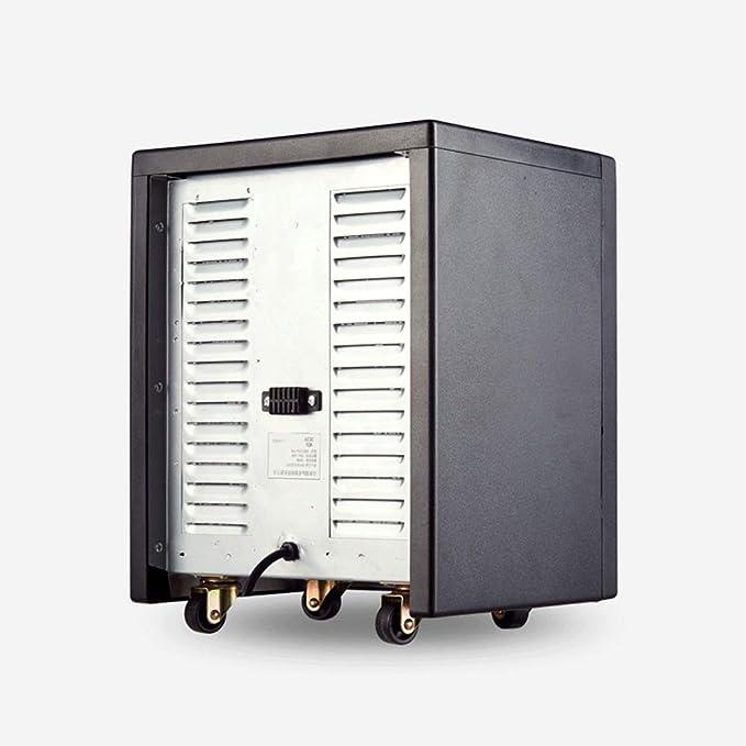 Calentador YNN Calefacción Hogar Oficina Ahorro de energía Estufa de calefacción eléctrica Baño silencioso Secado Chimenea Estufa de Horno: Amazon.es: Hogar