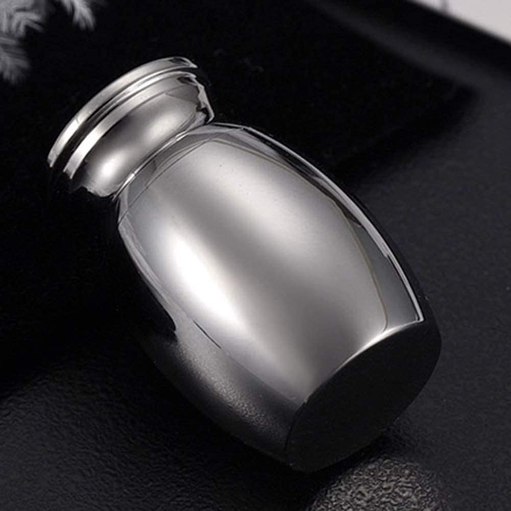 Style B Special/&Kind Memorial Ashes Vial Urns in jars Mini Keepsake Urns for Human Keepsake Holder for Ashes Stainless Steel Ashes Holder with Forever in My Heart
