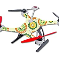 Skin For Blade 350 QX3 Drone – Hippie Flowers | MightySkins Protective, Durable, and Unique Vinyl Decal wrap cover | Easy To Apply, Remove, and Change Styles | Made in the USA