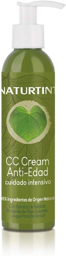 Naturtint CC Cream Eco Efecto Antiedad sin Aclarado, 200 ml
