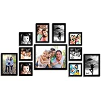 Painting Mantra Classy Photo Frame Set of 11 Individual Frames. (Photo Size : 1 -8x10,6 - 5x5, 2 -5x7, 2-4x6 )