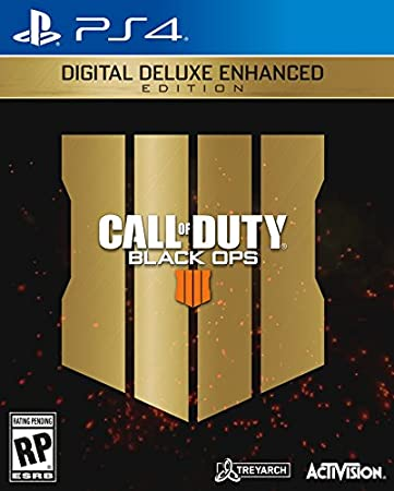 Call Of Duty: Black Ops 4 Digital Deluxe Enhanced - PS4 [Digital Code]