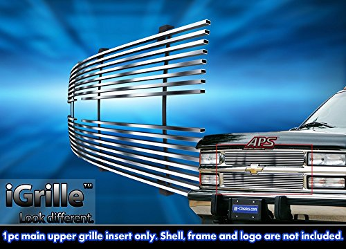 Stainless Steel eGrille Billet Grille Grill For 88-93 Chevy C/K (Suburban Blazer Billet Grille)