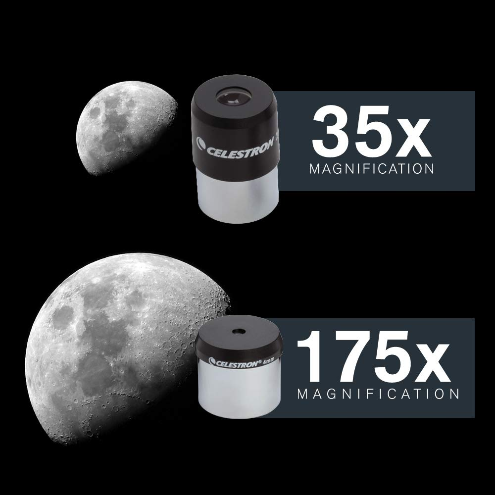 Celestron PowerSeeker 70EQ 35x Aluminio Telescopio