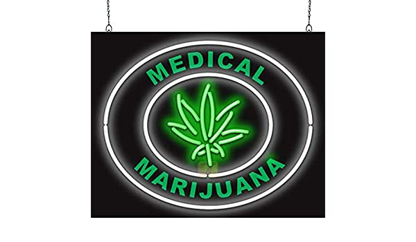 Medical Marijuana Neon Sign - - Amazon.com