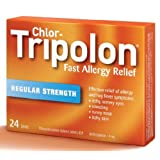 Chlor-Tripolon Tablets, 4mg, 24 Count