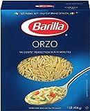 Barilla Pasta, Orzo Pasta, 16 Ounces
