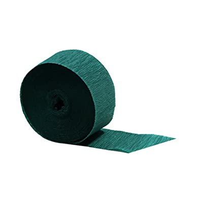 Green Crepe Paper Streamers 2 Rolls 145 ft Total - Made in USA! by Dennecrepe: Toys & Games