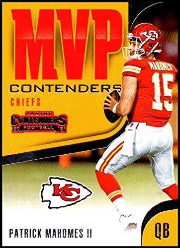 2018 Contenders MVP Contenders Football #MVP-19 Patrick Mahomes II Kansas City Chiefs Official NFL Trading Card made by Panini