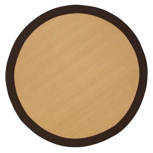 Rug Sisal Peace (Cove Area Rug, 6' ROUND, BROWN)