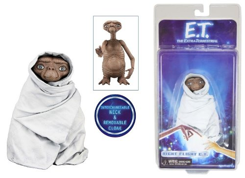 "NECA - E.T. the Extra-Terrestrial - 7"" scale action figure series 2 - Night Flight E.T."