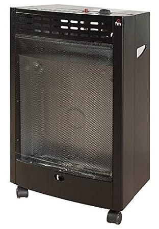 FM Calefacción EL-4200 Independiente propano/butano Negro - Estufa (Independiente, Negro, propano/butano, 4200 W, 490 mm, 430 mm): Amazon.es: Hogar