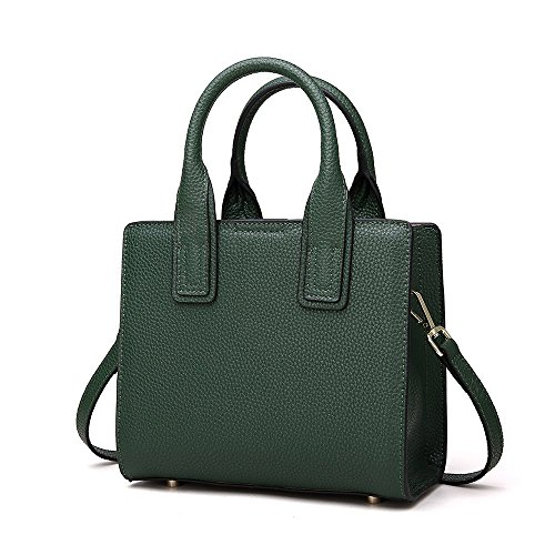 Neverout for Small Tracolla np2072 Verde Leather Handbags Women Tracolla 1fp1qH