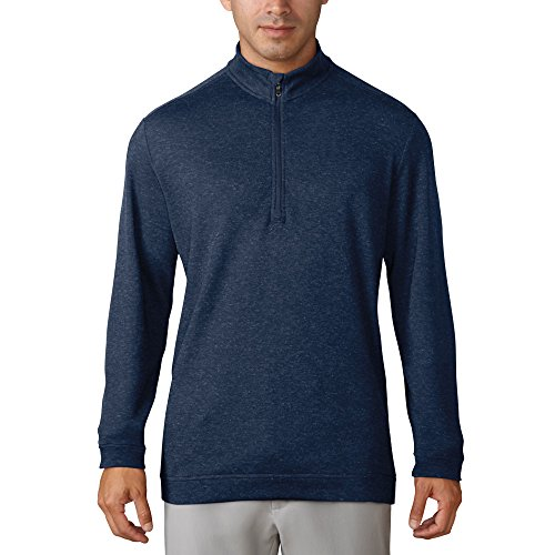 adidas Golf 2018 Climawarm ¼ Zip Jersey Mens Golf Pullover Trace Royal Large ()