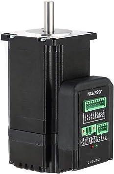 JSS57P2N Nema23 2N.m motor paso a paso de bucle cerrado integrado sistema de transmisión digital