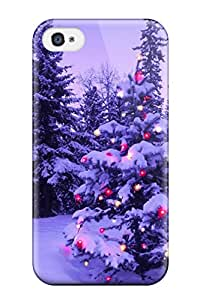 New Style Tpu 4/4s Protective Case Cover/ Iphone Case - Holiday Christmas