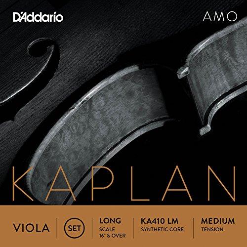D'Addario KA410 LM Kaplan Amo Viola String Set D'Addario