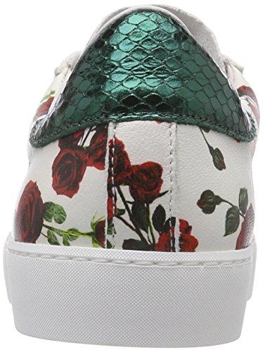 Stokton Dame Sneaker Mehrfarbig (hvid / Grøn / Rød / Guld) R9QOVvq2dh