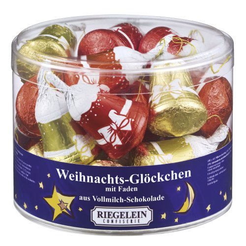 Riegelein Christmas bells 22 pieces (264g) - milk chocolate