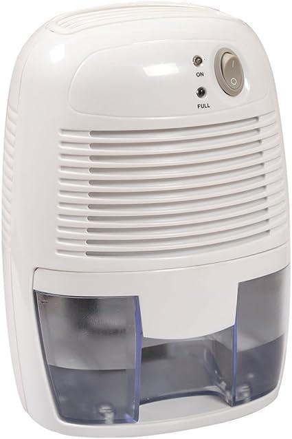 Mini DEUMIDIFICATORE Potere di deumidificazione portatile FINO a 500ml per damp casa bagno