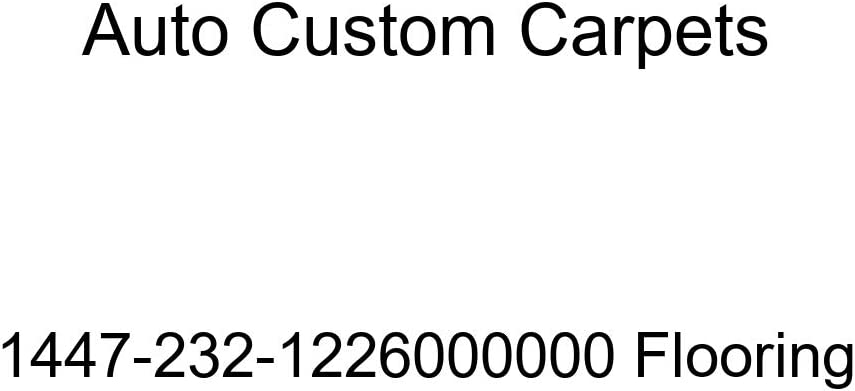 Auto Custom Carpets 1447-232-1226000000 Flooring