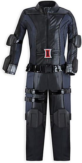Disfraz de Viuda Negra de Marvel de Disney, tamaño pequeño 5/6 ...