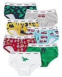 Carter's Boys' 7 Pack Dinosaur and Firetruck Underwear 4T/5T