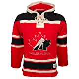 Team Canada Heavyweight Jersey Lacer Hoodie - Size Medium