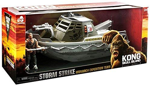 - Kong Skull Island Monarch Expedition Team Storm Strike Armored Boat