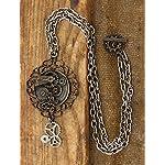 elope Antique Butterfly Gear Steampunk Necklace 4