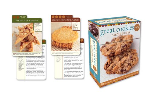 Great Cookies Deck: 50 delectable recipes and tips for making sensational sweets