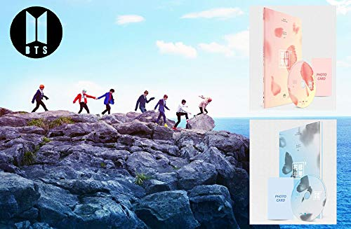 Love Cd Album - BTS 4th Mini Album In The Mood For Love PT.2 BANGTAN BOYS [ Peach + Blue ver. Set ] 2CD + Photo Book + Photo Card + Special Gift