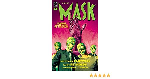 Of 4 Cvr B Albuquerque Pre-Sale 10//16 Mask I Pledge Allegiance To The Mask #1