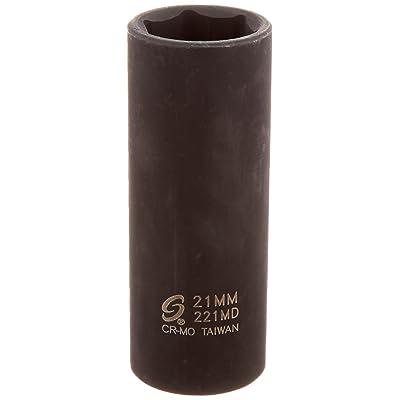 Sunex 221md 1/2-Inch Drive 21-mm Deep Impact Socket: Home Improvement