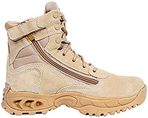 with Zipper Suede Sand Tan Leather Slip